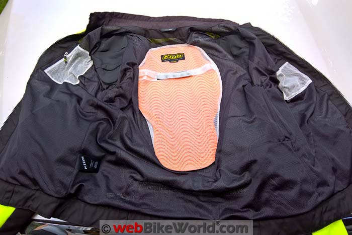 Klim Induction Jacket Back Protector