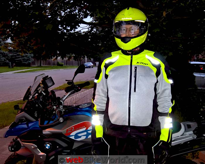 Klim Induction Jacket Reflectivity