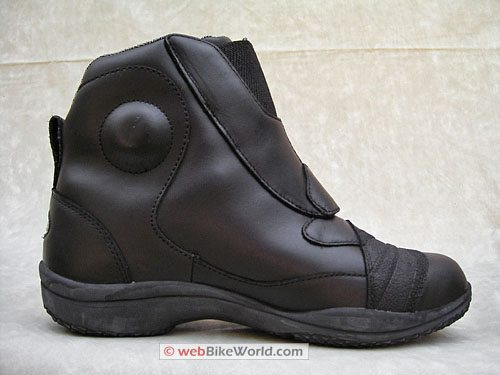 Tour Master Response SC Road Boots - Inside Ankle View