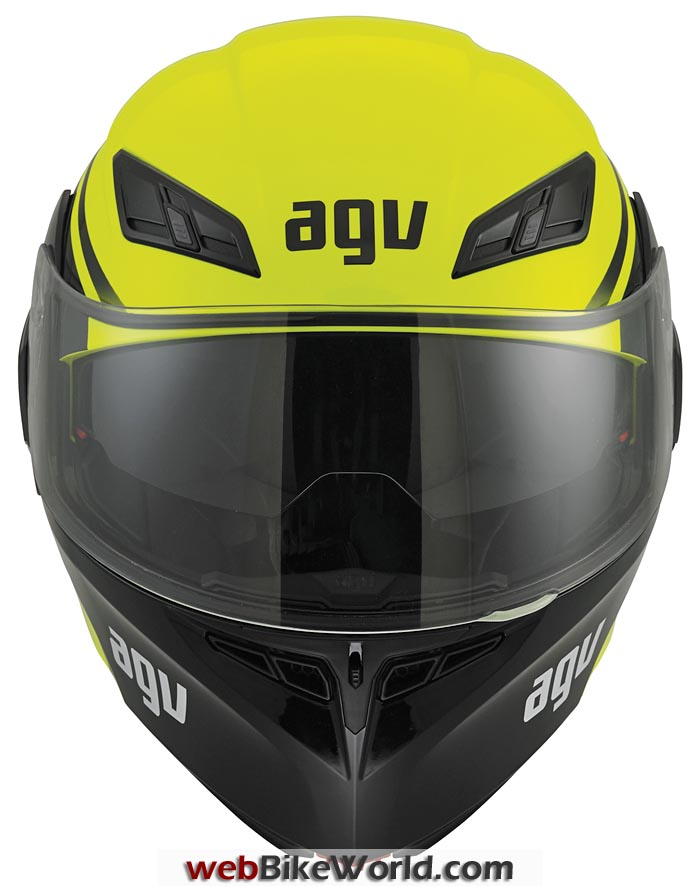 AGV Compact Helmet Front View