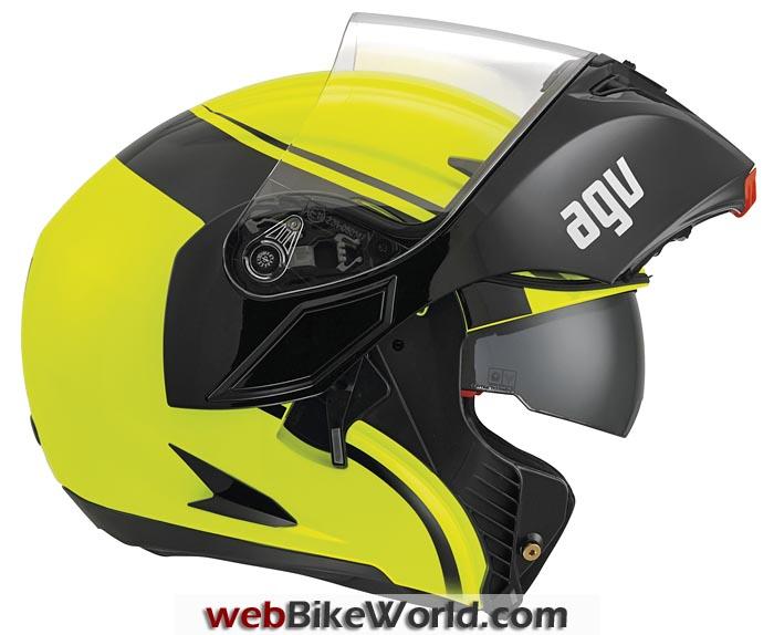 AGV Compact Helmet Open Visor