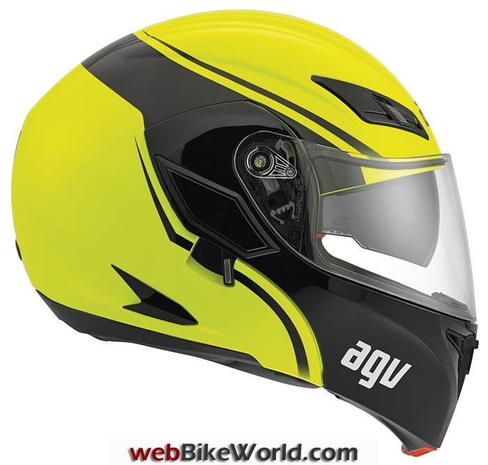 AGV Compact Helmet Side View