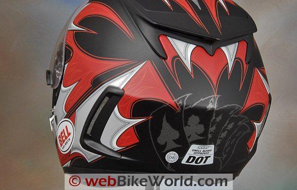 Bell Star Helmet - Rear Exhaust Vents
