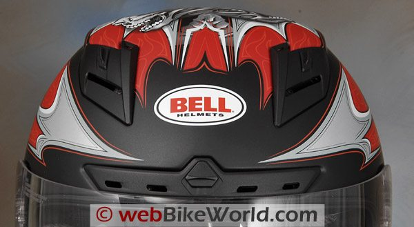 Bell Star Helmet - Top and Brow Vents