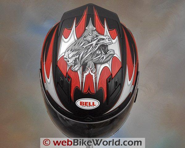 Bell Star Helmet - Top View