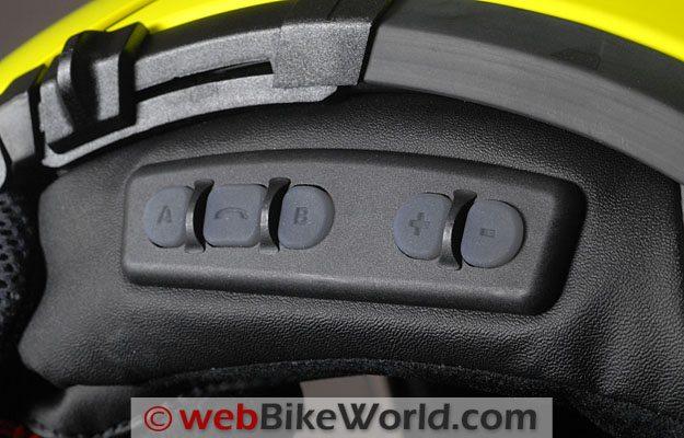 Schuberth SRC System - Buttons