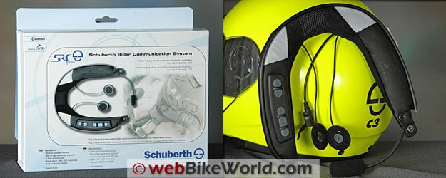 Schuberth SRC System - Box and SRC Collar