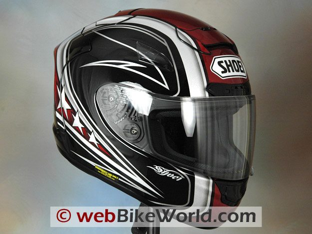 Shoei X-12, Front View
