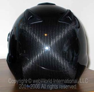 BMW Sport Integral Helmet Rear