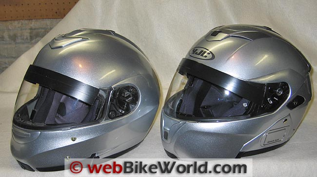 Sy-Max II vs. Sy-Max III Front Quarter View