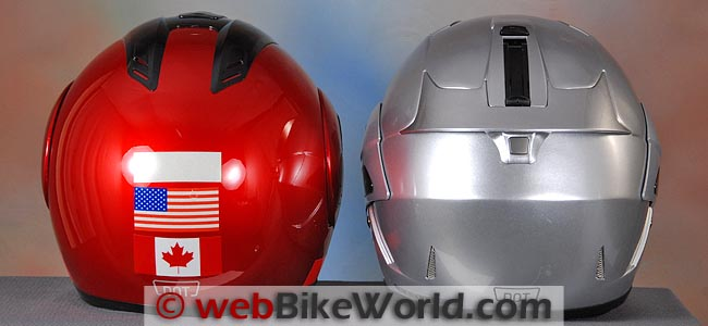 Sy-Max vs. Sy-Max III, rear view.