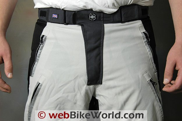 British Motorcycle Gear Adventure Pants - Waist