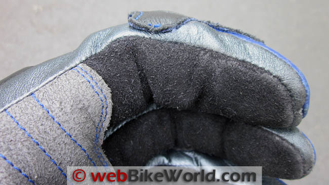 Gloves after resizing
