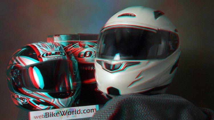 3D Motorcycle Helmet Photo