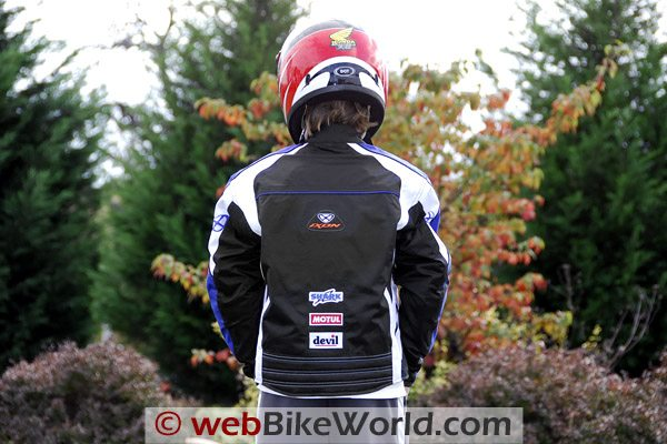 Ixon Los Angeles Children's Motorcycle Jacket - Rear View