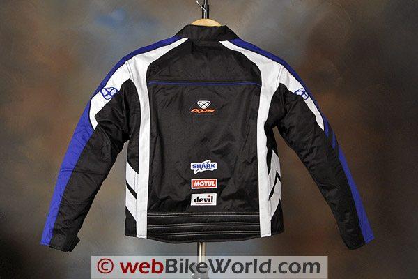 20d1d28a98d ... Ixon Los Angeles Children's Motorcycle Jacket - Rear View ...