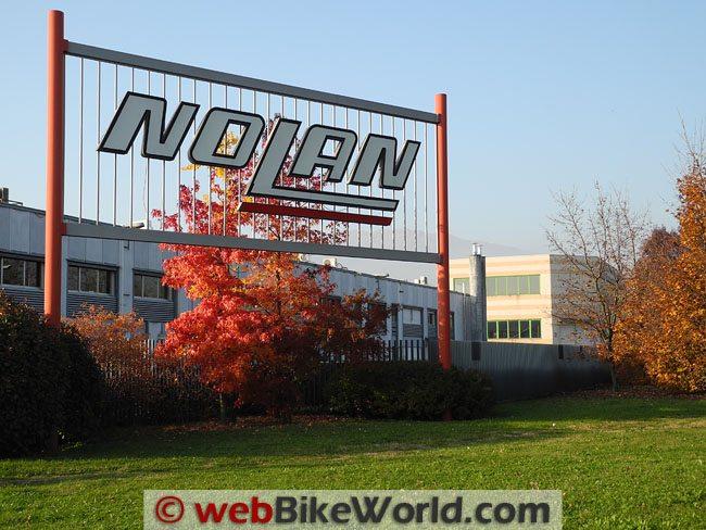 Nolan Helmet Factory