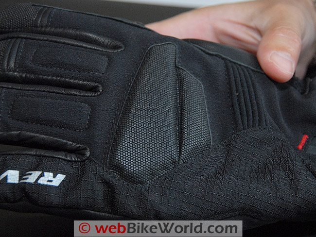 Rev'it Bastion GTX Gloves - Close-up of Superfabric