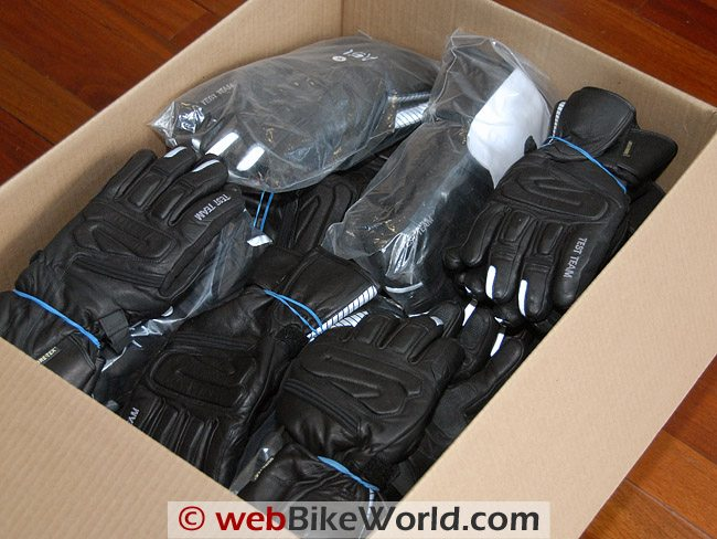 Returned Rev'it Gore-Tex Test Team Gloves