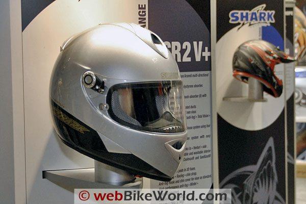 Shark RSR2 Carbon Helmet - Silver
