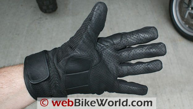 TourMaster Dri-Mesh Gloves, Palm and Gauntlet