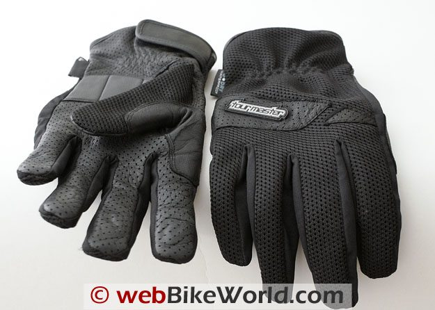 Tour Master Dri-Mesh Gloves - Top and Bottom