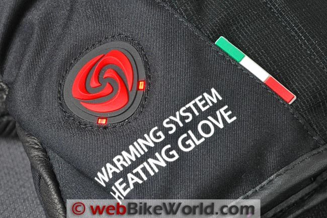 VQuattro Squadra Gloves Heating Element