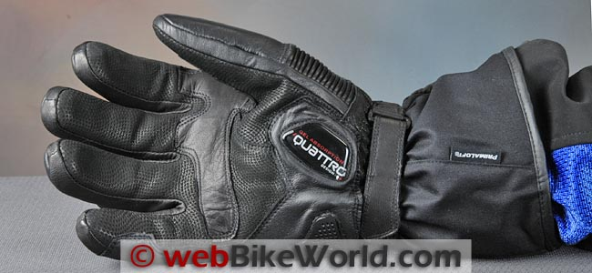 VQuattro Squadra Heated Gloves Palm