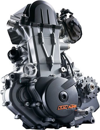 2008 KTM LC4 690cc Engine
