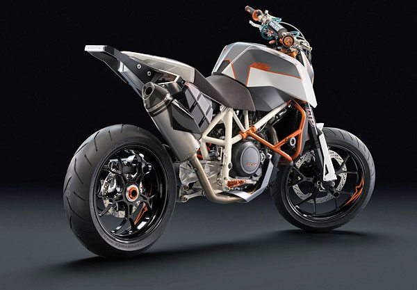 2008 KTM Stunt 690 - Right Side