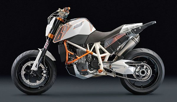 2008 KTM Stunt 690 - Left Side
