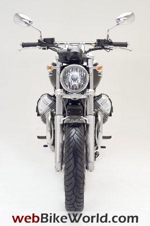 2009 Moto Guzzi Bellagio - Front View