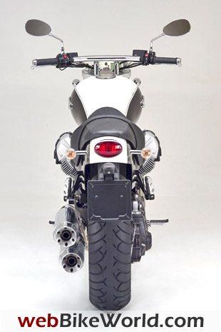 2009 Moto Guzzi Bellagio - Rear View