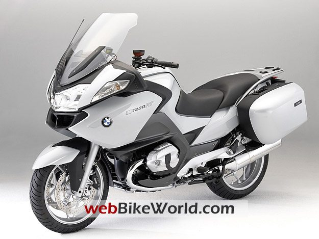 2010 BMW R 1200 RT Front Left View