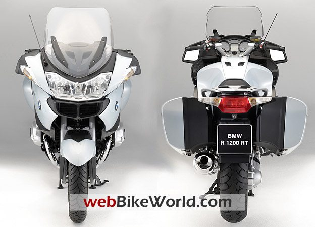 2010 BMW R 1200 RT Front and Rear Views