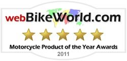 2011 webBikeWorld Motorcycle Product of the Year