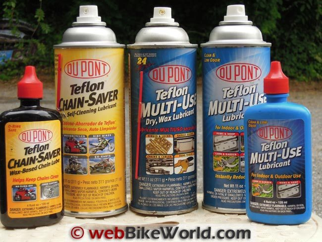 2012 DuPont Chain Lube Types