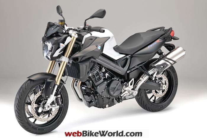 2015 BMW F 800 R Black and White