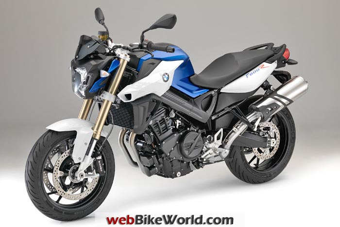 2015 BMW F 800 R Blue White