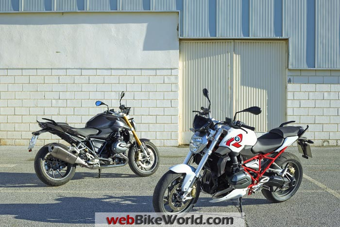 2015 BMW R1200R Colors
