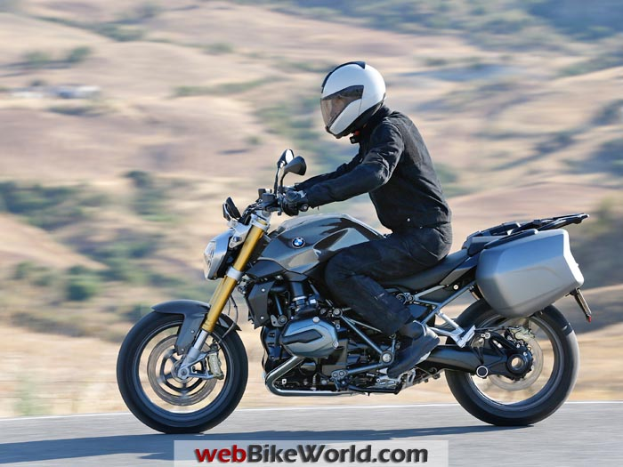 2015 BMW R1200R With Rider