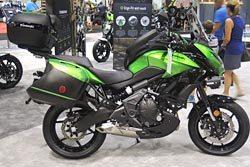 2015 Kawasaki Versys 1000 LT and Versys 650 LT