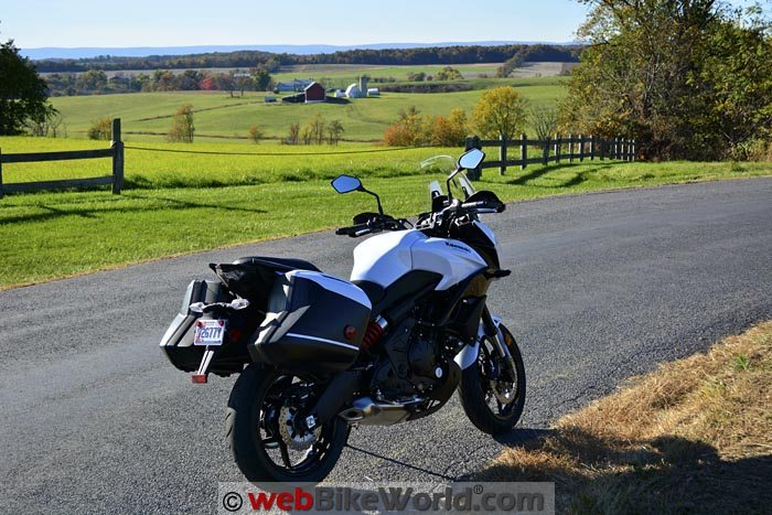 2015 Kawasaki Versys 650 LT Review Part 2