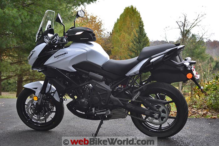 2015 Kawasaki Versys 650 LT With Luggage Removed
