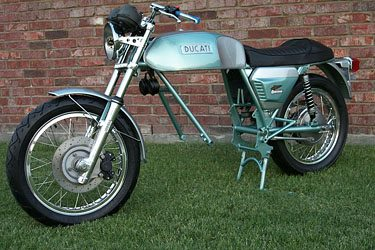 Ducati 750 GT Frame Without Engine