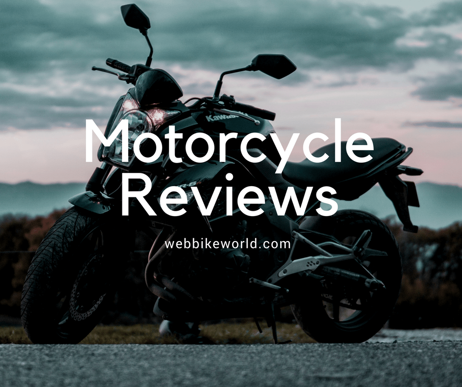 Motorcycle Reviews, Ride Reports and Ruminations