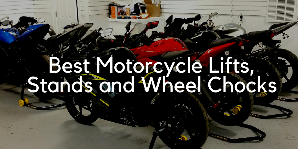 Motorcycle Lifts, Stands, Wheel Chock Reviews