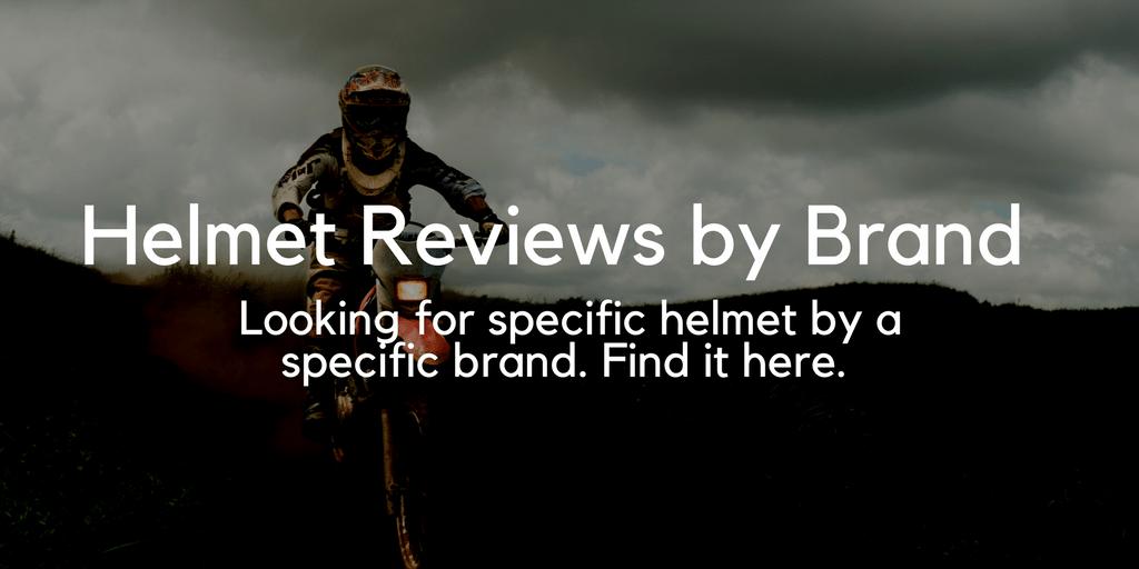Helmet Reviews by Brand