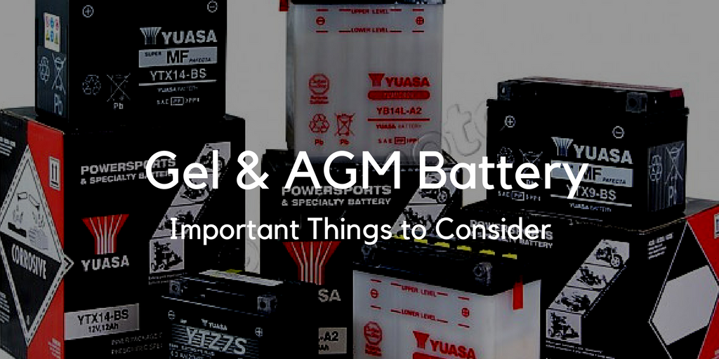 Gel & AGM Battery Information
