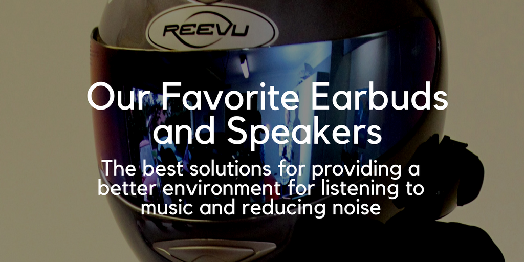 Our Favorite Earbuds and Speakers